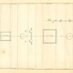 Plano de la segunda batería del navío Algeciras