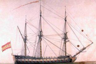 El servicio en los buques de guerra españoles de principios del siglo XIX