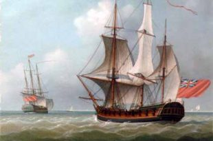 Sloop parecido al HMS St. Fermin
