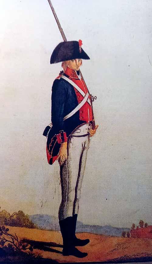 Soldado de infantería de marina.
