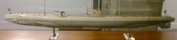 Submarino alemán de la primera guerra mundial