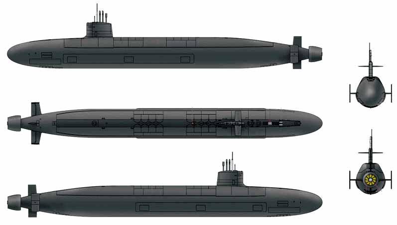 Submarinos nucleares de la clase Le Triomphant