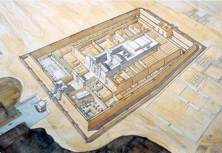 Medinet Habu. Templo funerario de Ramses III