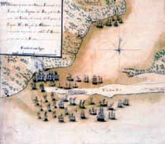 Tercer movimiento del ataque a Pensacola en 1781