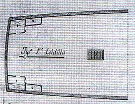 Toldilla del navío Purísima Concepción
