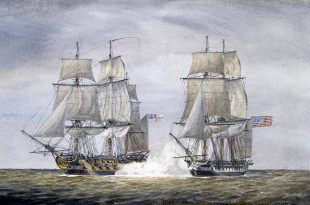 El incidente del HMS Leopard y la USS Chesapeake en 1807