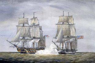 El incidente del HMS Leopard y la USS Chesapeake en 1807