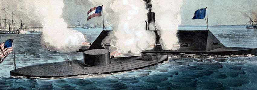 Batalla del USS Monitor contra el CSS Virginia