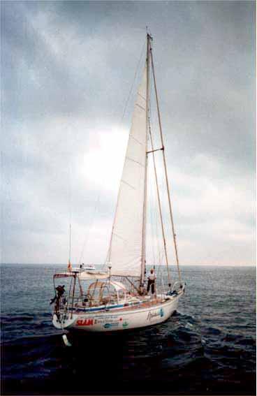 El velero Islero de Isidoro Arias