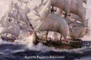 Portada del libro sobre el navío Glorioso