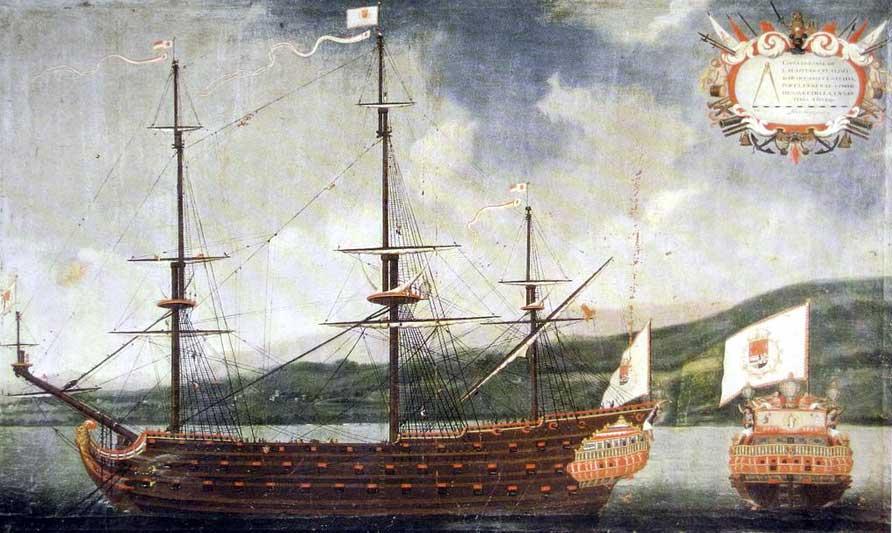 Historia del navío Nuestra Señora de la Concepción y de