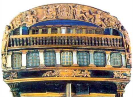 El Navio De Linea Y Las Tareas A Bordo Interior De Un Navio - Baos-antiguos